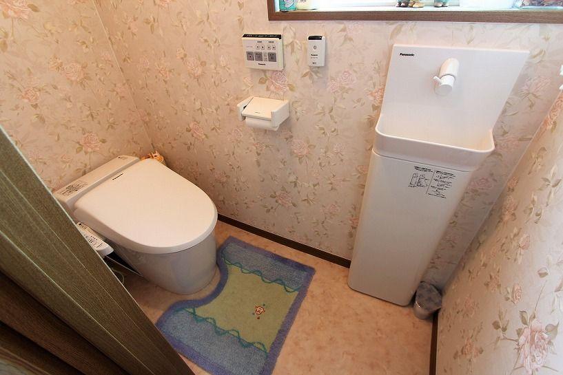 大津市北比良戸建トイレ