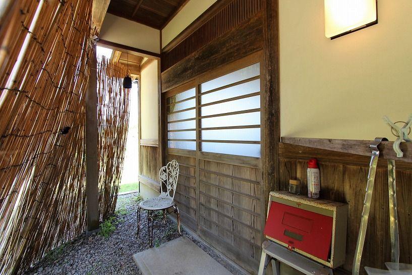 奈良県宇陀郡曾爾村塩井日本家屋の玄関