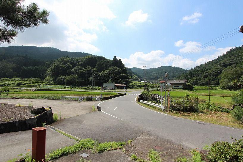 伊賀市奥馬野古民家からの眺望