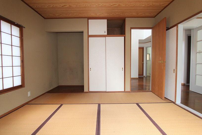 京都市右京区京北周山町百ノ角戸建の1階和室