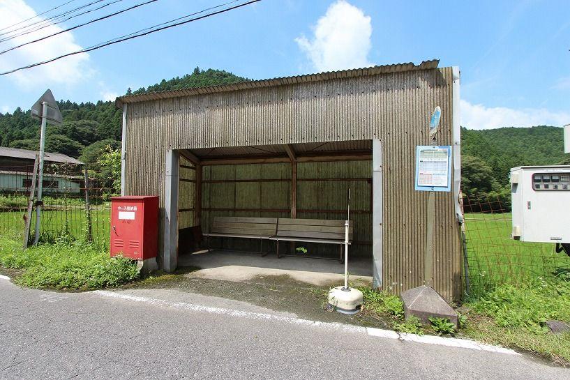 伊賀市奥馬野古民家からの最寄りバス停