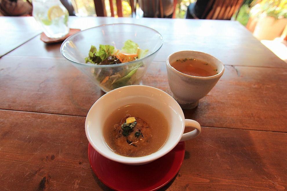 ヒルトコcafeの前菜三種