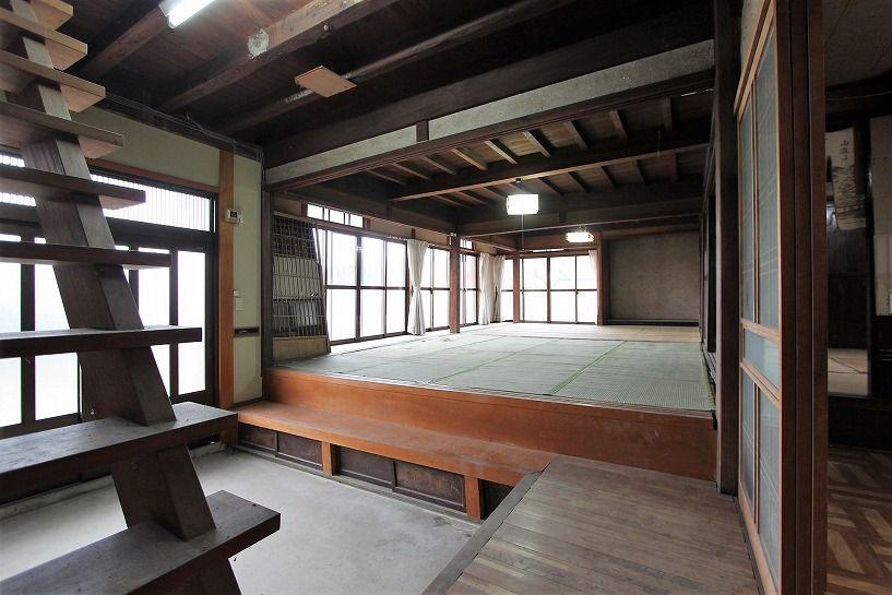 兵庫県美方郡香美町小代区鍛冶屋古民家1階和室1