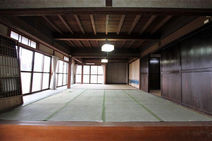 兵庫県美方郡香美町小代区鍛冶屋古民家1階和室2
