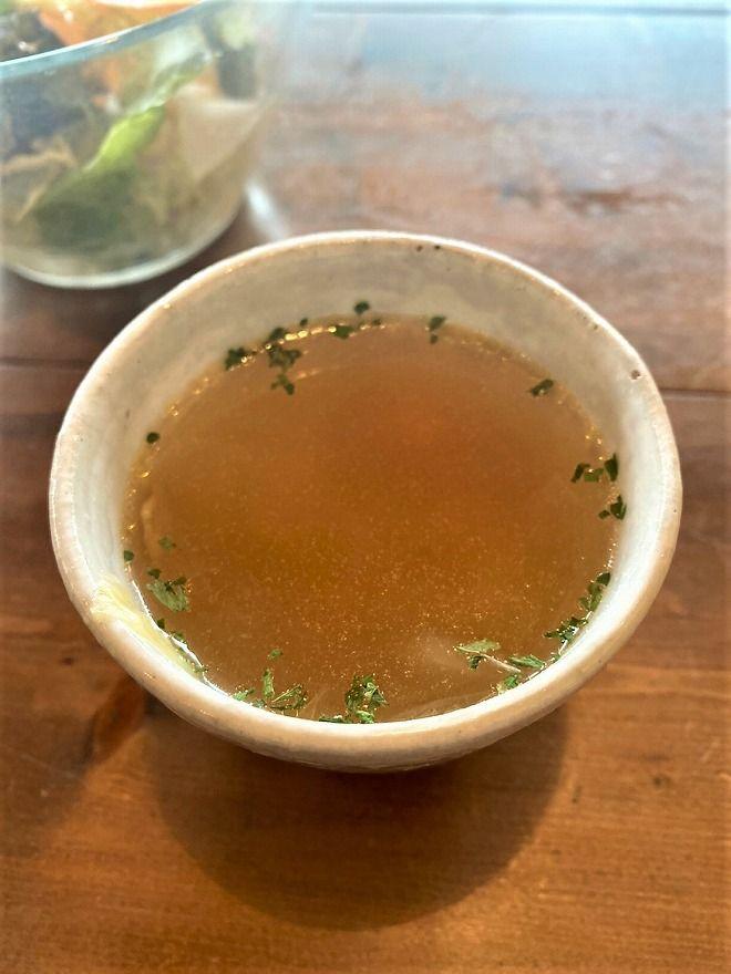 ヒルトコcafeのスープ