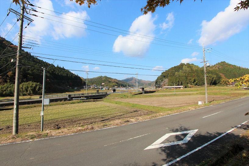 京丹波町妙楽寺石原古民家からの眺望