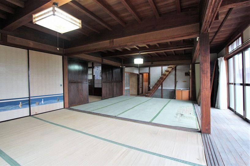 兵庫県美方郡香美町小代区鍛冶屋古民家1階和室4