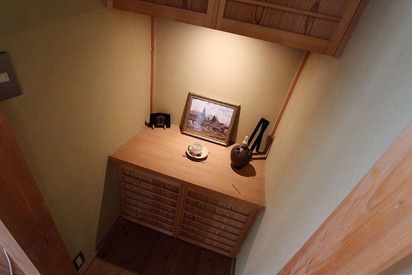 奈良県宇陀郡曾爾村塩井日本家屋の飾り棚