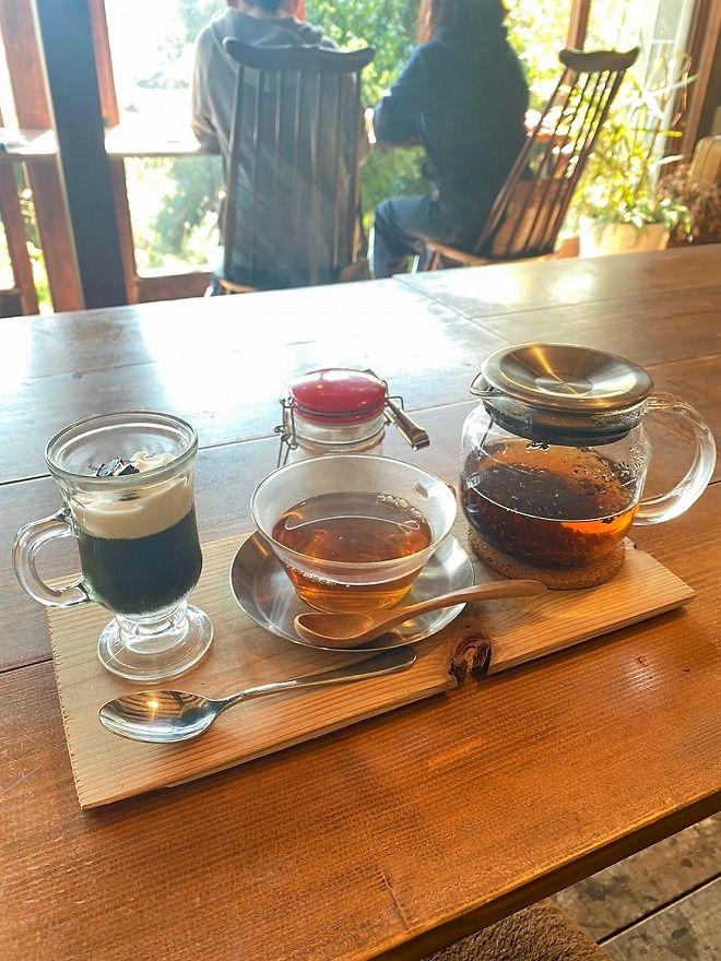 ヒルトコcafeの紅茶