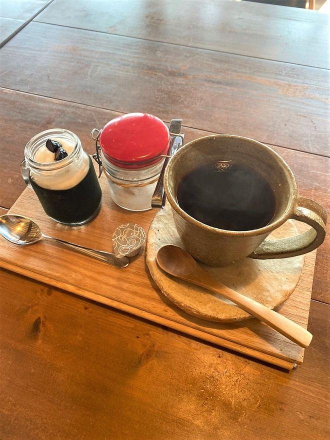 ヒルトコcafeのホットコーヒー