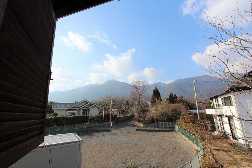 大津市大物中古別荘物件からの眺望(蓬莱山)