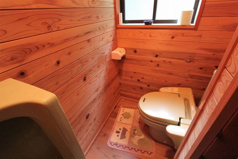 京丹波町水吞久保田ウッディハウスのトイレ