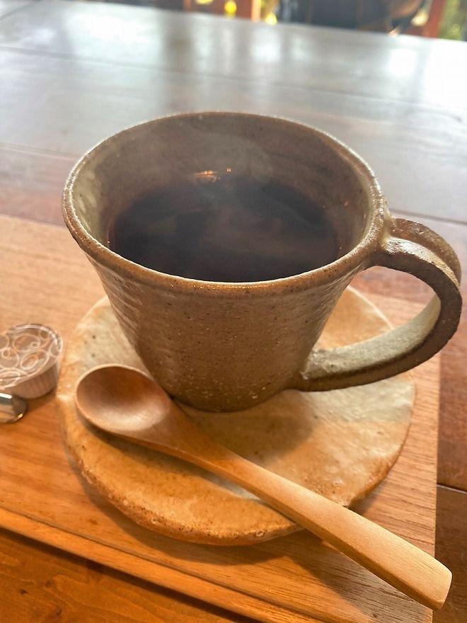 ヒルトコcafeのコーヒーカップ