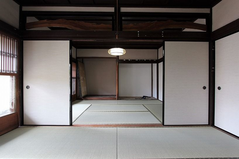 滋賀県長浜市野瀬町再生古民家の和室