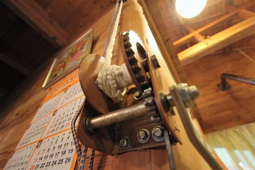 京丹波町水吞久保田ウッディハウスの階段