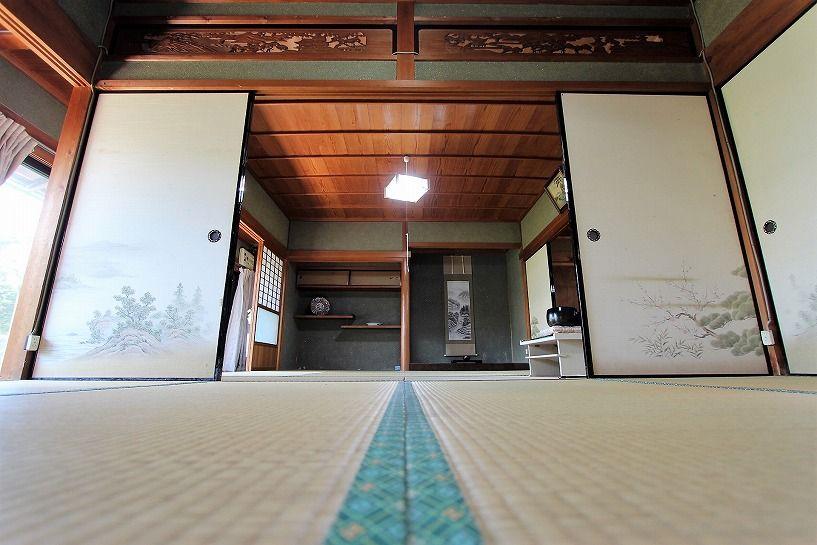 三重県伊賀市比土の平屋古民家の和室
