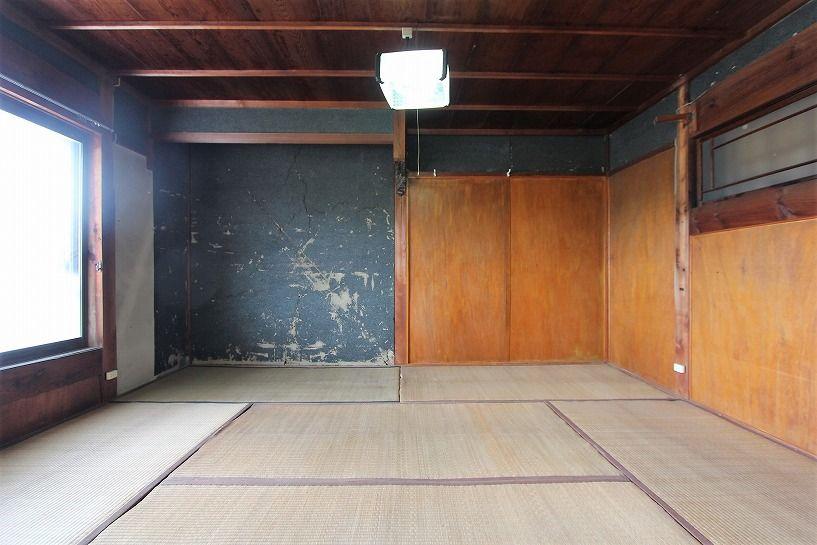 伊賀市川東古民家2階和室