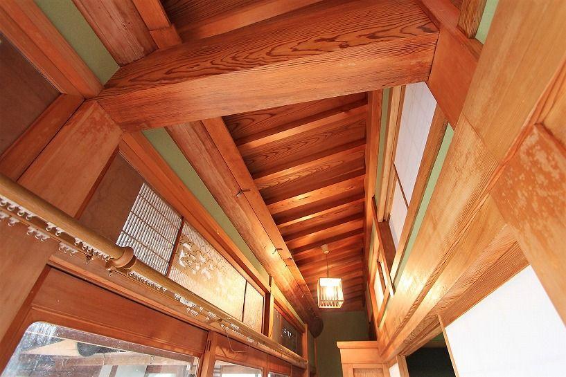 河内長野市小山田町縁側の天井