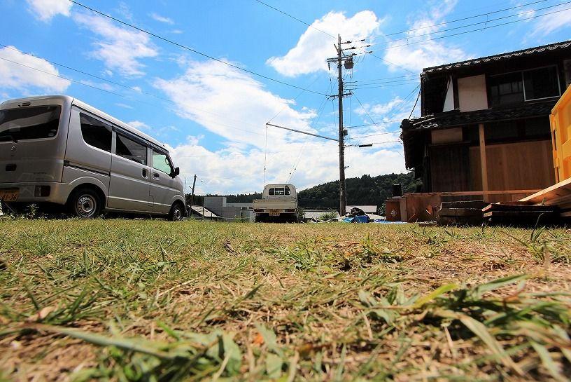 滋賀県長浜市野瀬町再生古民家の庭