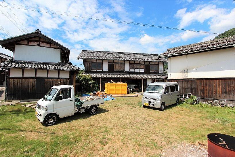 滋賀県長浜市野瀬町再生古民家の外観全景