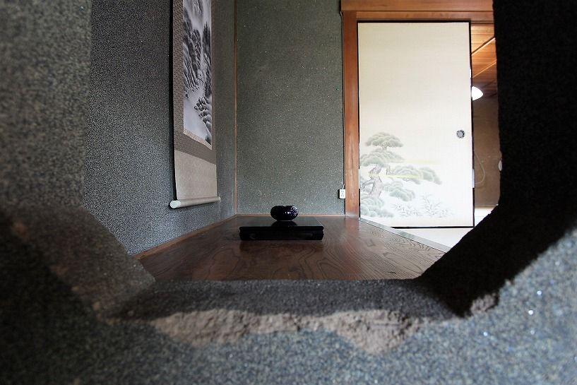 三重県伊賀市比土の平屋古民家の床の間2