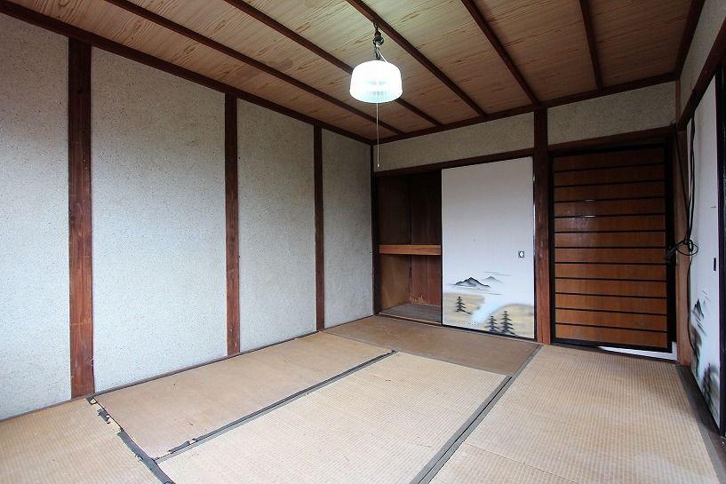 兵庫県美方郡香美町小代区鍛冶屋古民家2階和室