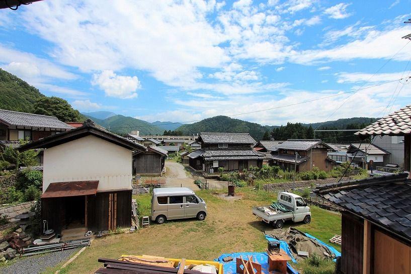 滋賀県長浜市野瀬町再生古民家の眺望