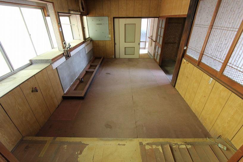 伊賀市摺見古民家の母屋ダイニング