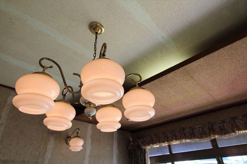 福井県三方上中郡若狭町日本家屋の間接照明