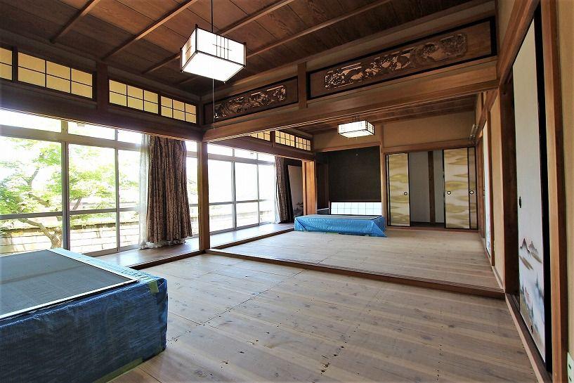 福井県三方上中郡若狭町日本家屋の床の間和室