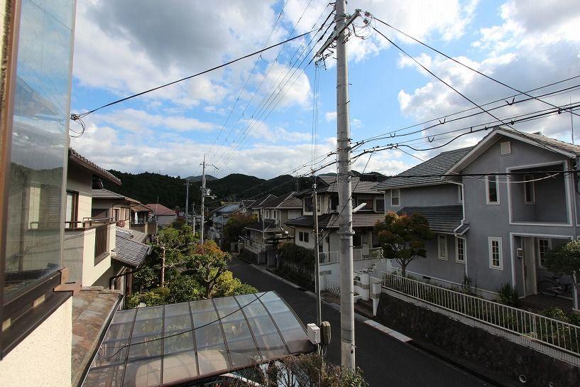 河内長野市美加の台日本家屋2階ホールからの眺望