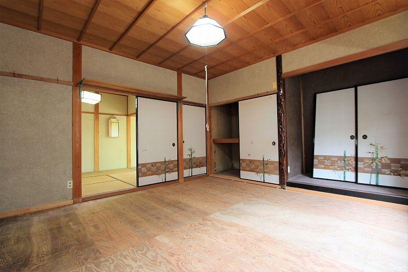 福井県三方上中郡若狭町日本家屋の1階和室