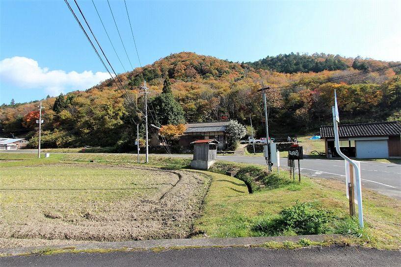 京丹波町妙楽寺石原古民家の全体図