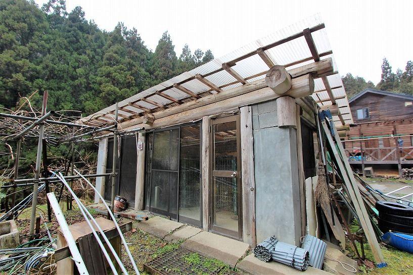 京丹波町水吞久保田ウッディハウス倉庫