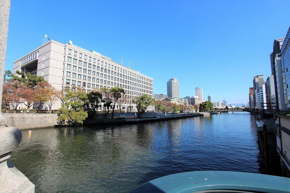 淀屋橋の東側景色